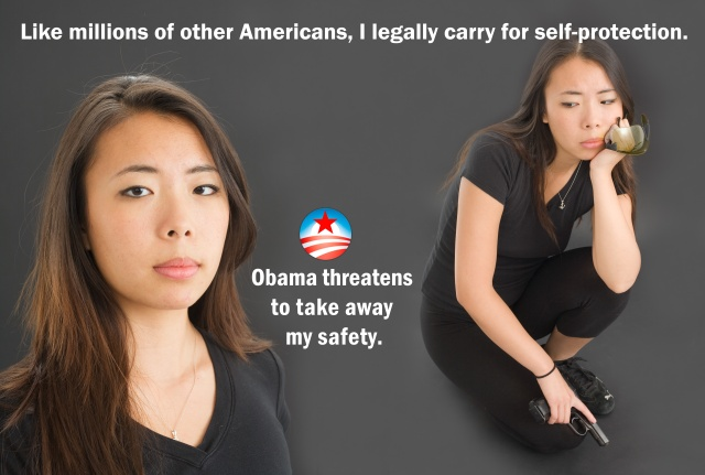 Obama threatens to take away my safety.