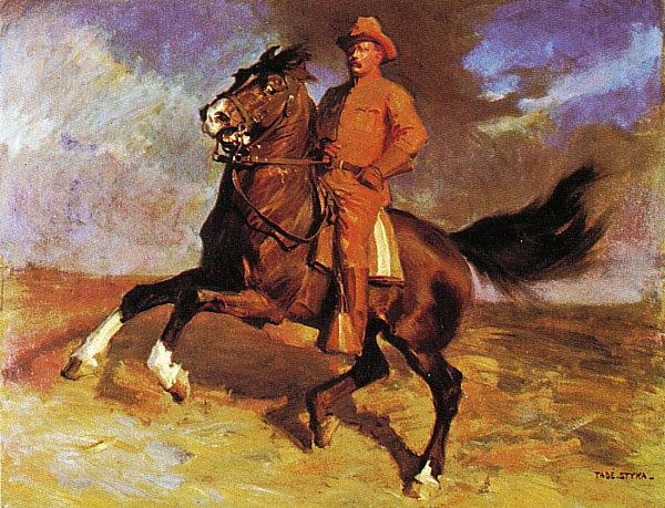 Roosevelt 1909 Tade Styka